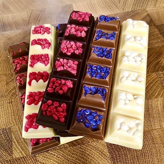 Jardín de chocolate