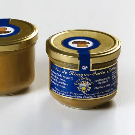 Salsa de hongos 150gr.