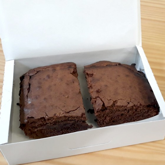 Brownie kaxa. 2 ale.
