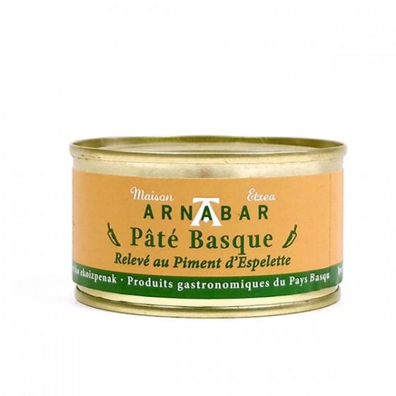 Arnabar, basque patea