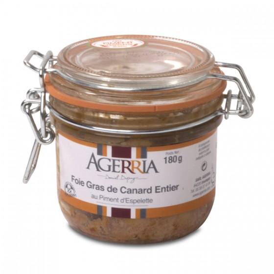 Foie gras osoa Ezpeletako...